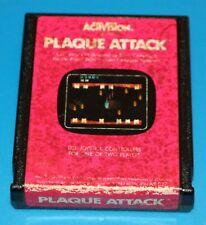 PLAQUE ATTACK ACTIVISION ATARI 2600 Used GAME CARTRIDGE