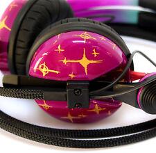 Custom Cans UV Pink Sennheiser Hd25 2016 Model 2yr