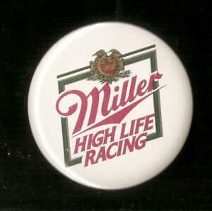1988 U-00 Miller High Life Racing Unlimited Hydroplane Racing Button