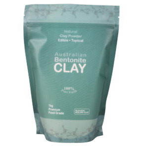 Australian Bentonite Clay 1kg Bulk Size FOOD GRADE- Limited Time Special