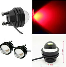 New 2pcs Xenon 5W Projector Daytime Fog Light High Power Bull Eye LED DRL 12-24V