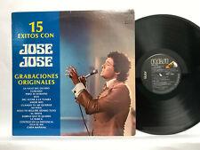 """JOSE JOSE """"15 Exitos-Grabaciones Originales """"  LP ORIGINAL RCA COMPILATION  1978"""