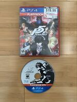 Persona 5 (Sony PlayStation 4, 2017) PS4 Video Game RPG Joker - Ships Same Day