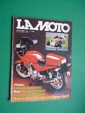 LA MOTO Settembre 1982 Laverda RGS 1000 Honda CX 500E Yamaha XJ750 Seca SPENCER