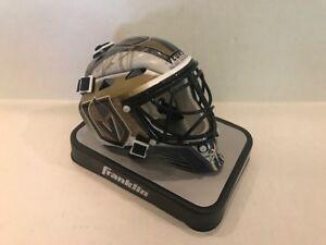 Marc Andre Fleury Las Vegas Golden Knights Signed NHL Mini goalie Mask  COA Holo