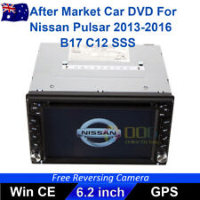 """6.2"""" Double 2 DIN Car DVD Player Stereo for Nissan Pulsar 2013-2016 B17 C12 SSS"""