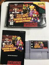 Super Mario RPG: Legend of the Seven Stars (Super Nintendo Entertainment System,