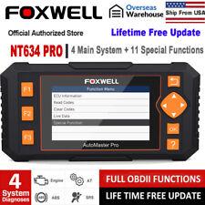 FOXWELL NT634 EOBD OBD2 Scanner Engine ABS SRS SAS AT TPMS EPB Diagnostic Tool