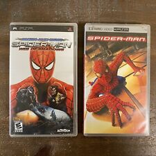 PlayStation Portable PSP UMD Video Spider-Man Movie & Web Of Shadows PSP Game
