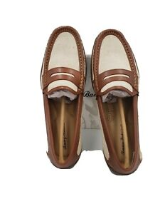Tommy Bahama Mens Taza Fronds Driving Style Loafers 9.5 US