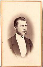 K.A. Hauer CDV photo Herrenportrait - Wien 1870er