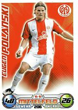 206 Eugen Polanski - 1. FSV Mainz 05 - TOPPS Match Attax 2009/2010