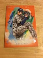 2019 Topps Inception Blake Snell Orange Parallel 15/50 #41 Tampa Bay Rays