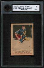 "1951 52 Parkhurst #103 Reg ""Reggie"" Sinclair Rookie RC KSA 7 New York Rangers"