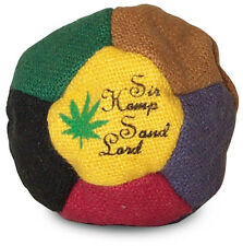 Hemp footbag hacky sack dirtbag sand filled - Sir Hemp Sand Lord!