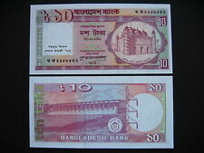 BANGLADESH  10 Taka 1996  Commemorative Issue  (P32)  UNC
