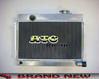 3 Core Aluminum Radiator for Datsun 1600 Manual MT
