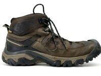 Keen Mens Brown Targhee III Waterproof Outdoor Mid Hiking Boots Size US 13 EU 47