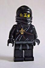 Lego COLE Ninjago Black Ninja Minifigure 2112 2263 2516