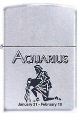 Zippo 9282 horoscope aquarius Lighter