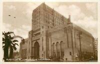 1920s Fraternal Elks Club 99 Los Angeles California RPPC real photo 6140