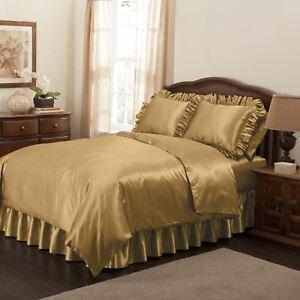 Luxury Satin Duvet Cover, 17 Colors, 4 Sizes Available - Blissford