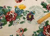 """Country Garden, Pioneer Woman, Cotton/Poly Fabric, Fat Quarter, FQ 18"""" L x 21"""" W"""