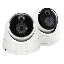 Swann Thermal Sensing PIR 3MP Super HD 30m IR Dome CCTV Camera IP66 Twin Pack