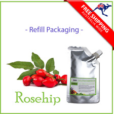 100% Pure Rosehip Seed Carrier Oil Rose Hip Oil 50ml, 100ml  Refill Packaging