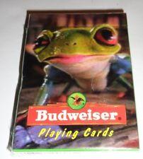 Nos! Budweiser Playing Cards Frog 1996 Anheuser-Busch Usa