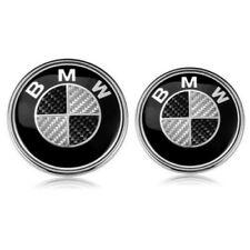 Auto Badge Emblem 82+74mm für BMW Vorne Hinten Motorhaube Heckklappe Kofferraum-