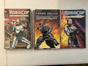 22 RoboCop Comics! Marvel, Dark Horse, Avatar Frank Miller! 1st Marvel issue!