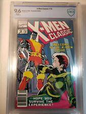 X-MEN Classic #75 CBCS 9.6 ADAM HUGHES Newsstand !!! Edition 1992 White