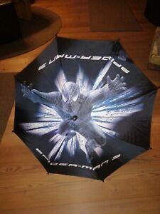 Kinder Regenschirm Spiderman neuw Schwarz