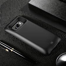SAMSUNG GALAXY S8 + PLUS External Battery WIRELESS CHARGING Case Galaxy S7 Edge