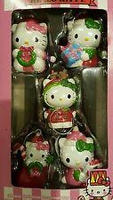 Hello kitty 5 pieces Christmas ornaments set