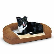 New listing K&H Pet Products Ortho Bolster Sleeper Orthopedic Dog Bed Large Brown