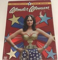 Wonder Woman - The Complete First Season (DVD, 2004, 3-Disc Set) Sealed! New
