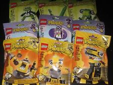Lego Mixels Series 6 Complete Set of All Figures 41545 - 41553 Priority Ship