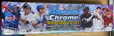 2017 Bowman Chrome Mini Complete Set Factory With 30 Parallel Cards