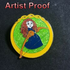Disney YOUNG MERIDA WITH BOW  from Brave Glitter AP version Pin 102768