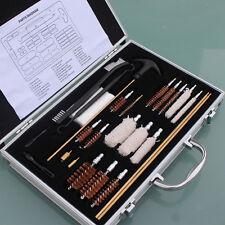 100pcs Pro Universal Gun Cleaning Kit Box Tool Kit Clean Carrying Case Storage