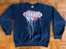 Vintage 1990s Conart Sweatshirt L Graffiti Hip Hop Rap Dmc Tupac Jay Z Dre Bulls