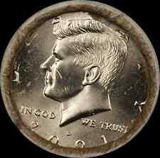2001 D Kennedy Half Dollar $10 OBW Roll American Coins