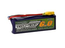 RC Turnigy nano-tech 6000mAh 3S 25~50C Lipo Pack w/XT-90