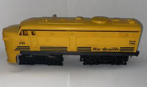 LIONEL 221 Postwar Rio Grande Alco Diesel Locomotive