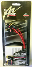 "Monster Cable Car Audio Interlink 101XLN Y Adapter 1M to 2F RCA 101288 10"" 2 Pcs"