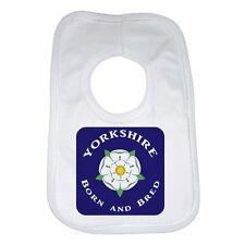 Yorkshire Born and Bred Baby Bib