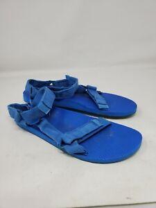 Teva Size 11 Blue Adjustable Classic Hook Latch Sandal Active Universal camo