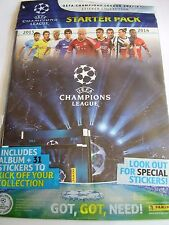 PANINI 2013 2014  UEFA CHAMPIONS LEAGUE  FOOTBALL STICKER ALBUM BOOK  EMPTY
